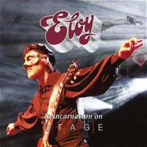 ELOY - Reincarnation on Stage cover