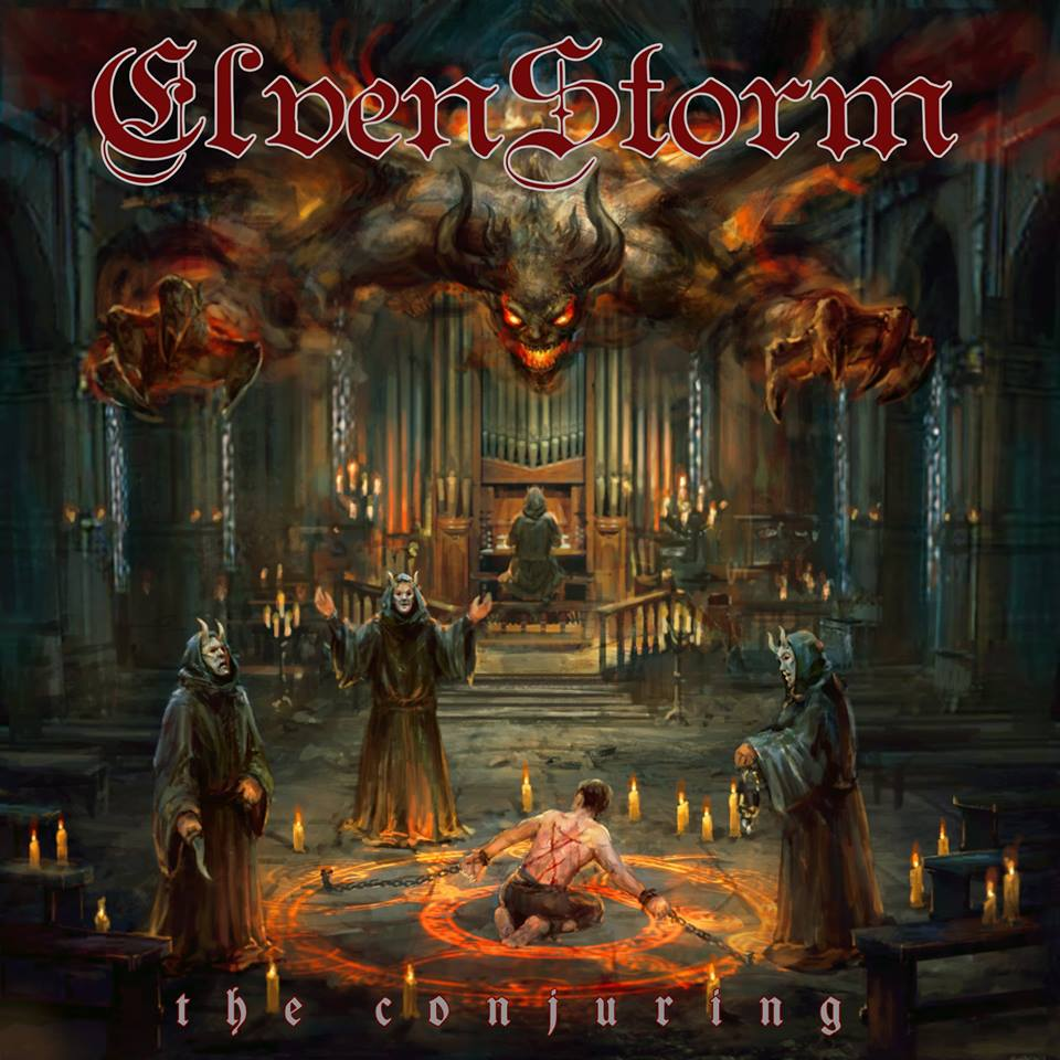 ELVENSTORM - The Conjuring cover