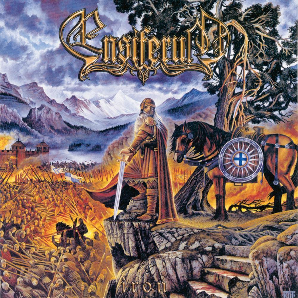 ENSIFERUM - Iron cover