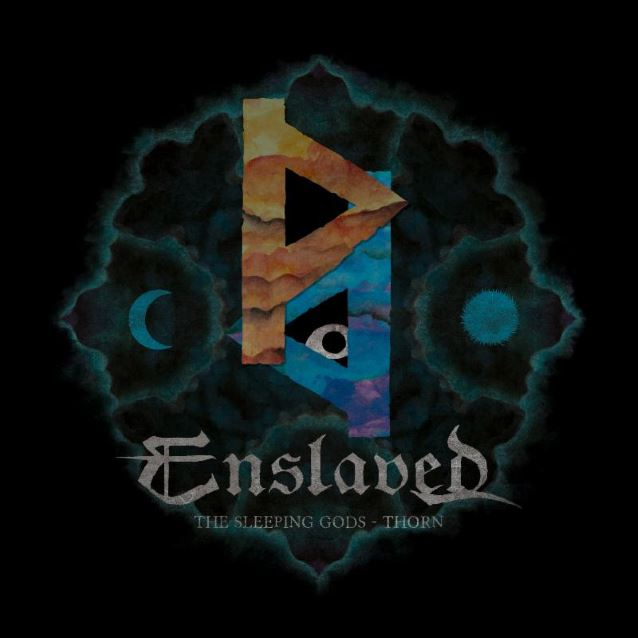 ENSLAVED - The Sleeping Gods - Thorn cover