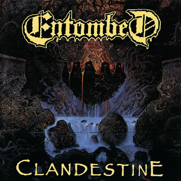 ENTOMBED - Clandestine cover