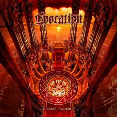 EVOCATION - Illusions Of Grandeur cover