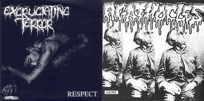 EXCRUCIATING TERROR - Respect / Stained cover