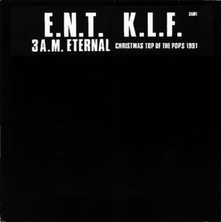 EXTREME NOISE TERROR - E.N.T. vs. K.L.F. cover