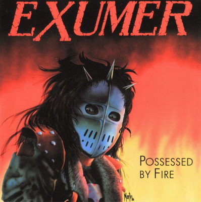 EXUMER - Possessed by Fire cover