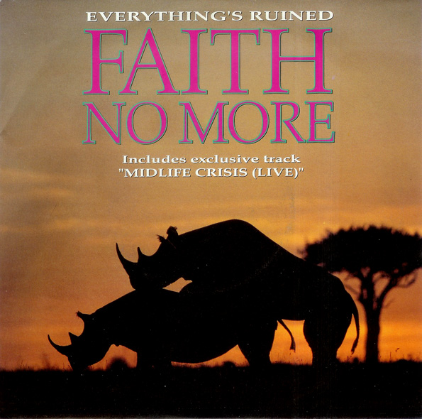 FAITH NO MORE - Everything's Ruined cover