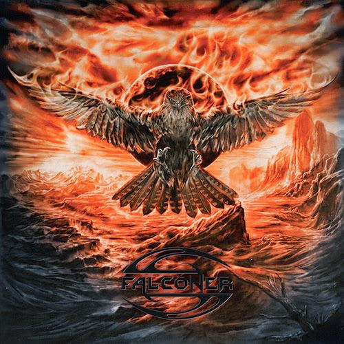 FALCONER - Black Moon Rising cover
