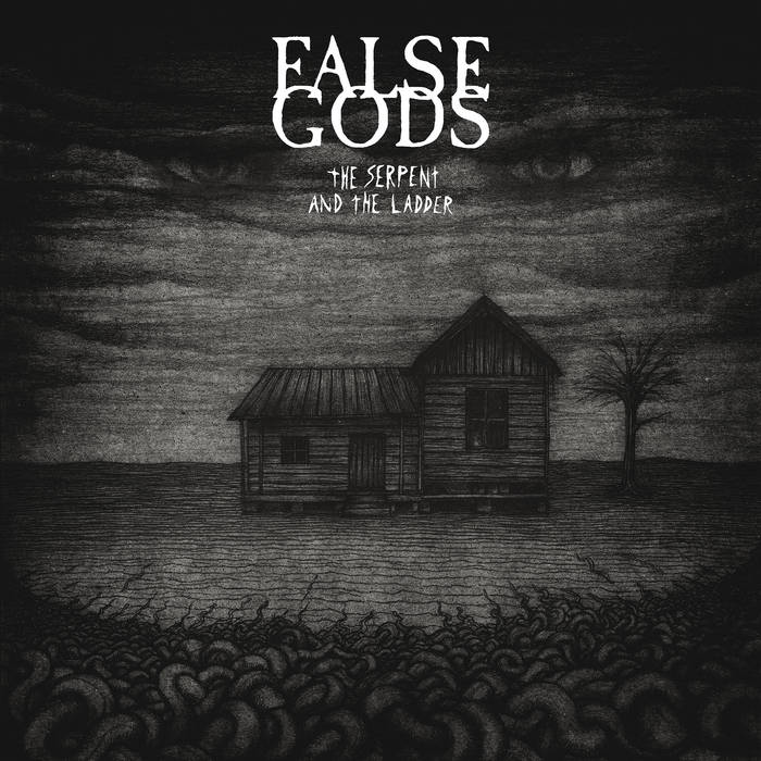 FALSE GODS - The Serpent And The Ladder cover