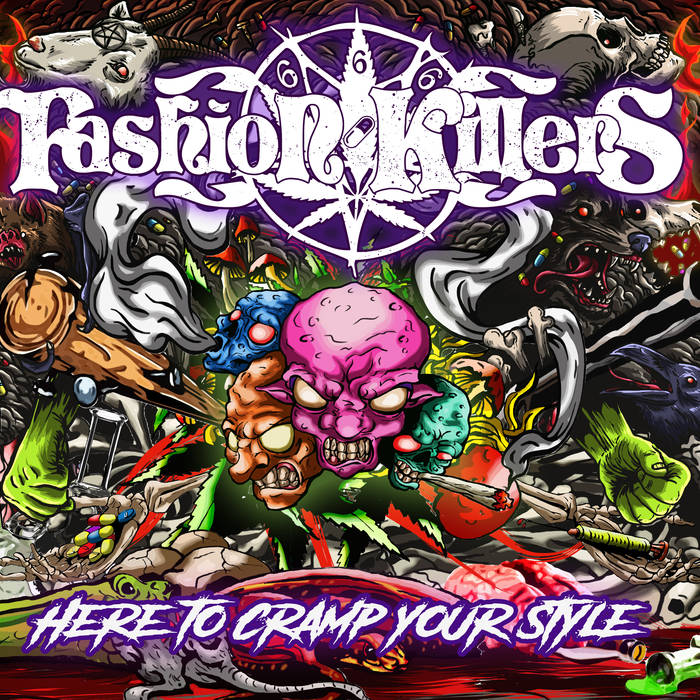 FASHION KILLERS - Here To Cramp Your Style cover
