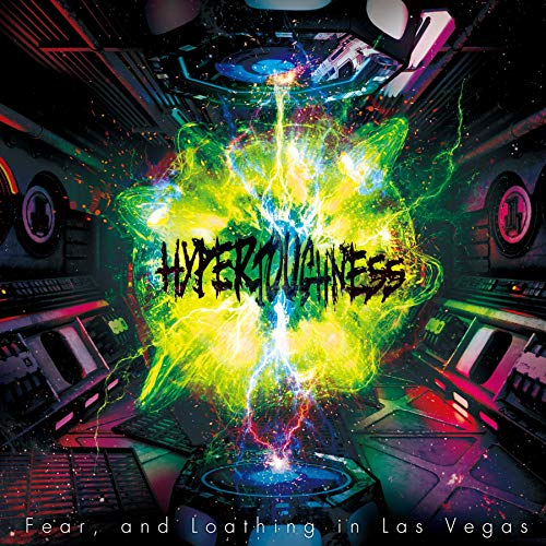 FEAR AND LOATHING IN LAS VEGAS - Hypertoughness cover