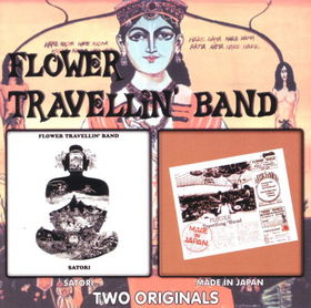 FLOWER TRAVELLIN' BAND - Satori - Made In Japan (Two Originals) cover