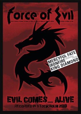 FORCE OF EVIL - Evil...Comes Alive cover