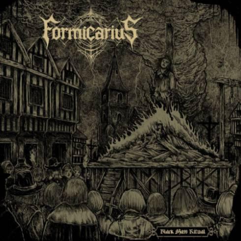 FORMICARIUS - Black Mass Ritual cover