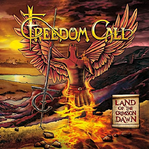 FREEDOM CALL - Land of the Crimson Dawn cover