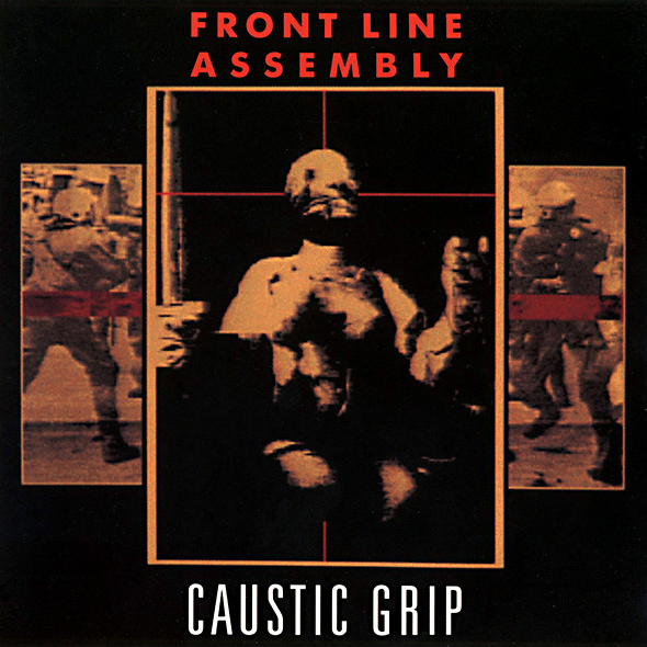 FRONT LINE ASSEMBLY - Caustic Grip cover