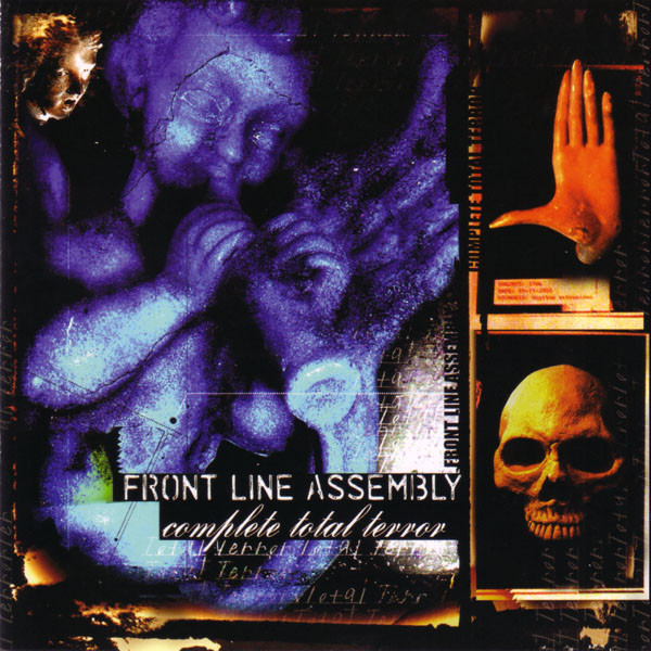 FRONT LINE ASSEMBLY - Complete Total Terror cover