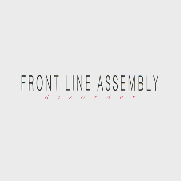 FRONT LINE ASSEMBLY - Disorder cover