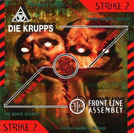 FRONT LINE ASSEMBLY - Remix Wars Strike 2 - Die Krupps vs. Front Line Assembly cover