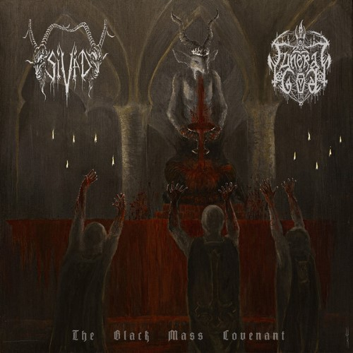 FUNERAL OF GOD - The Black Mass Covenant cover