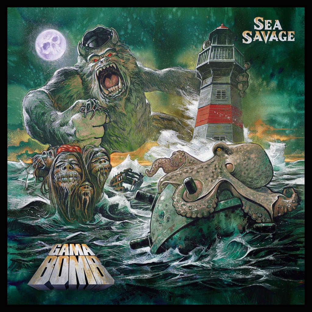 GAMA BOMB - Sea Savage cover