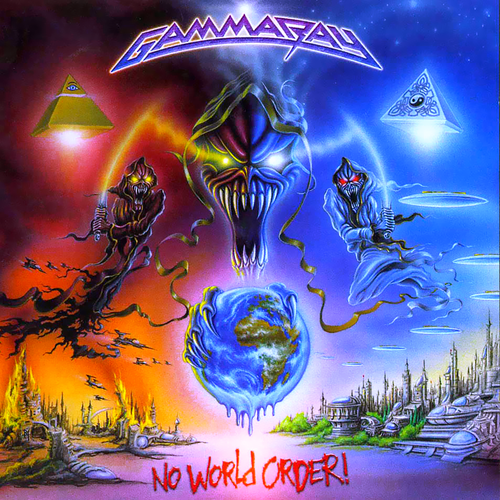 GAMMA RAY - No World Order cover