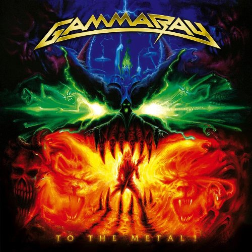 GAMMA RAY - To the Metal! cover