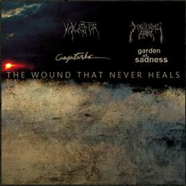 GARDEN OF SADNESS - The Wound That Never Heals cover