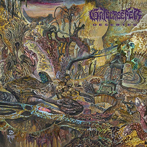 GATECREEPER - Deserted cover
