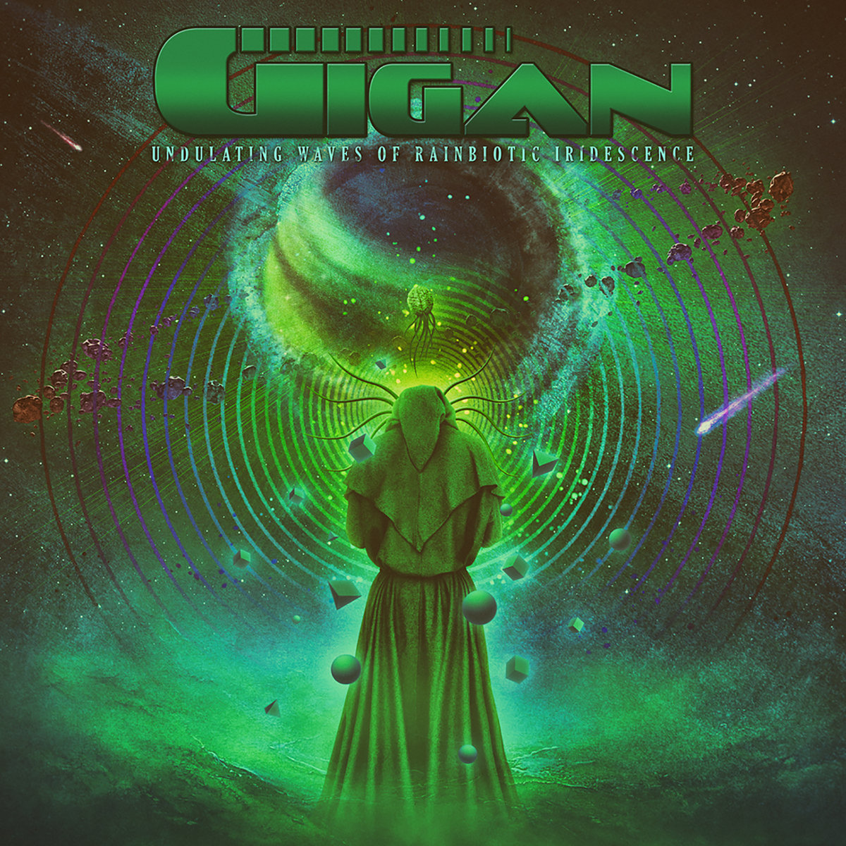 GIGAN - Undulating Waves of Rainbiotic Iridescense cover