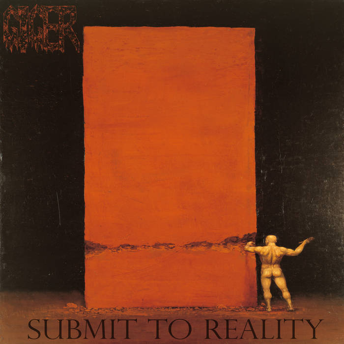 GIGER - Submit To Reality cover