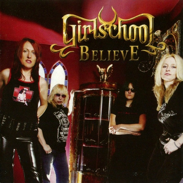 GIRLSCHOOL - Believe cover