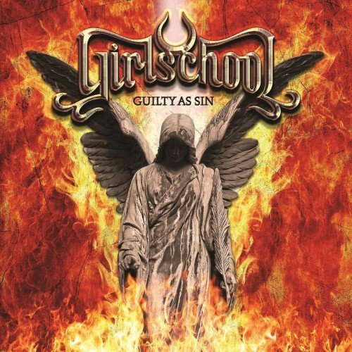 GIRLSCHOOL - Guilty As Sin cover