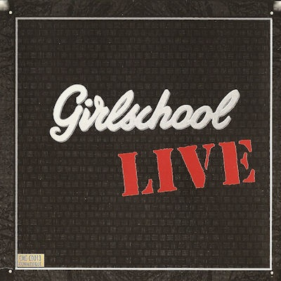 GIRLSCHOOL - Live cover