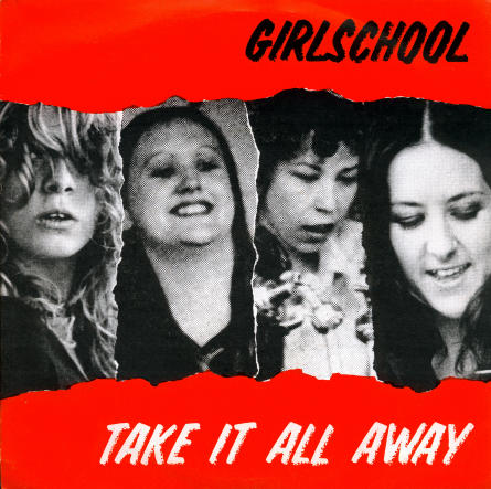 GIRLSCHOOL - Take It All Away cover