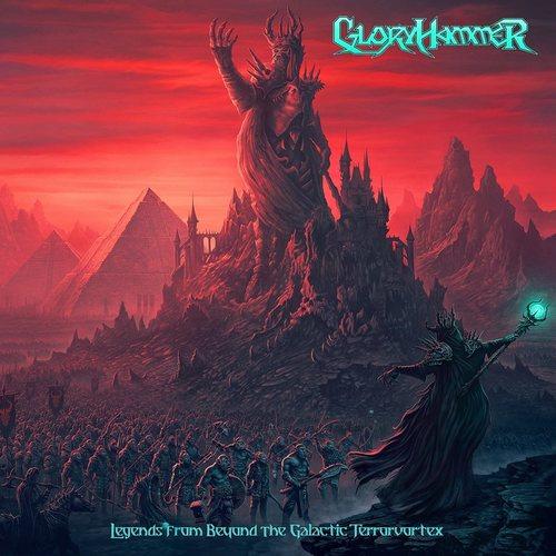 GLORYHAMMER - Legends from Beyond the Galactic Terrorvortex cover