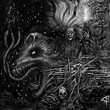 GRAFVITNIR - Obeisance To A Witch Moon cover