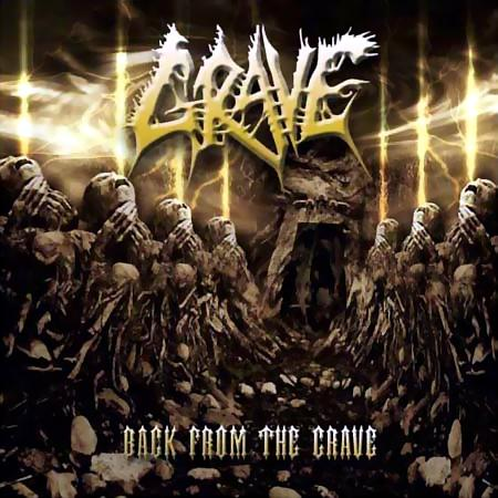 GRAVE - Back From the Grave cover