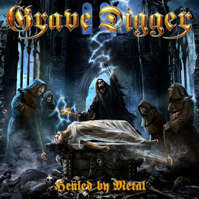 GRAVE DIGGER - Healed By Metal cover