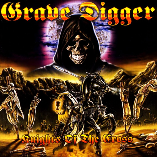 GRAVE DIGGER - Knights of the Cross cover