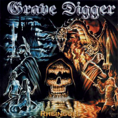 GRAVE DIGGER - Rheingold cover