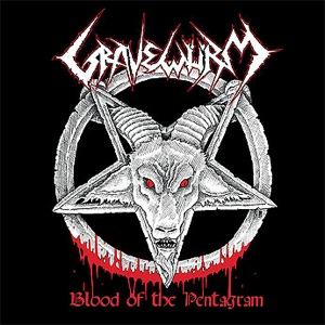 GRAVEWRM - Blood of the Pentagram cover 