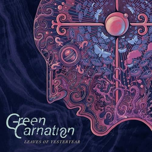 GREEN CARNATION - Leaves of Yesteryear cover