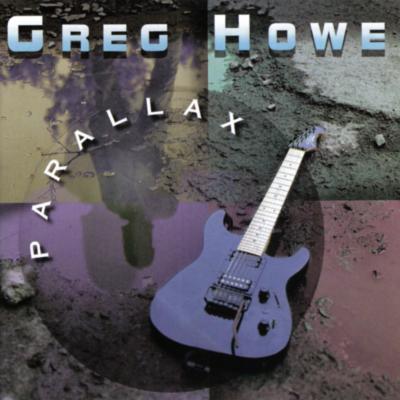 GREG HOWE - Parallax cover