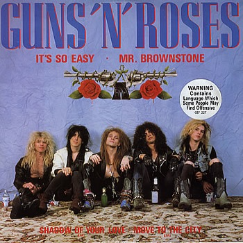 GUNS N' ROSES It's So Easy reviews
