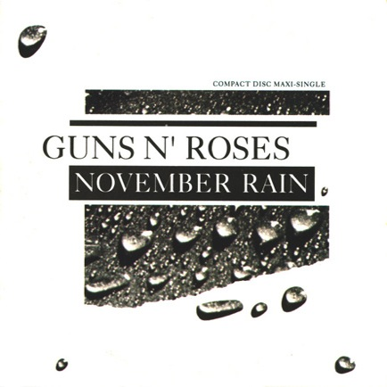 November rain single vinyl November rain single - Guns N Roses Albumy Guns N Roses Single Guns N Roses.