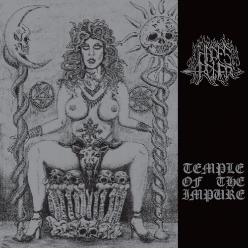 HADES ARCHER - Temple of the Impure cover