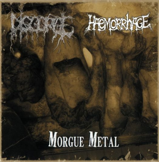 HAEMORRHAGE - Morgue Metal cover