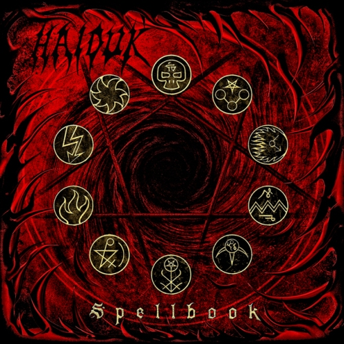 HAIDUK - Spellbook cover