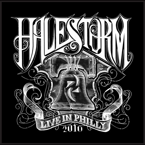 HALESTORM - Live In Philly 2010 cover