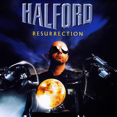 HALFORD - Resurrection cover